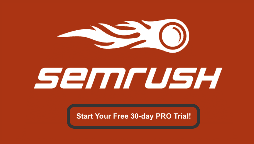SEMrush Free Trial Logo